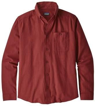 Patagonia Men's Long-Sleeved Vjosa River Pima Cotton Shirt