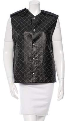 Piece d'Anarchive Quilted Leather Vest w/ Tags