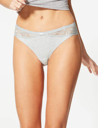 5301607b3 M S CollectionMarks and Spencer Lace Brazilian Knickers