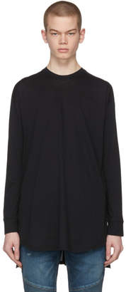Balmain Black Raglan T-Shirt