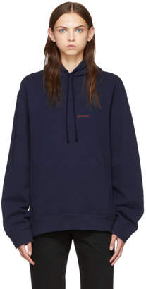 Calvin Klein Blue Established Hoodie