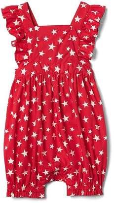 Starry flutter shorty one-piece $29.95 thestylecure.com