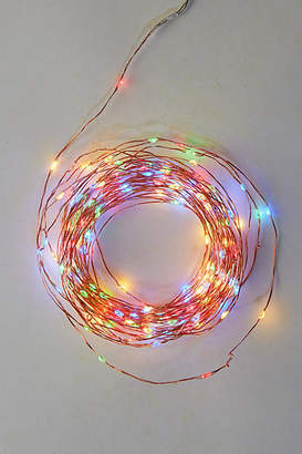 Anthropologie Stargazer Carousel Twine Lights, 50' Plug-In