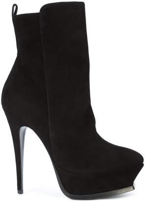 Saint Laurent platform sole ankle boots