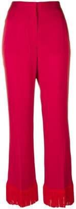 Stella McCartney 'Dessa' fringe trousers