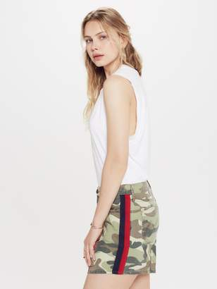 Mother The Vagabond Mini Skirt - Double Time Camo