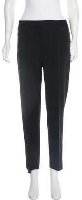 Tod's Mid-Rise Straight-Leg Pants