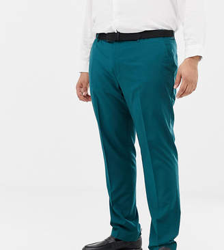Farah Smart Henderson skinny suit pants in teal