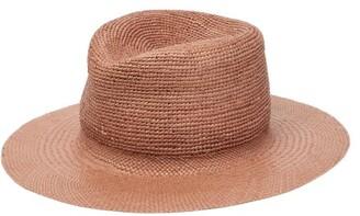 Albertus Swanepoel Straw Panama Hat - Mens - Beige
