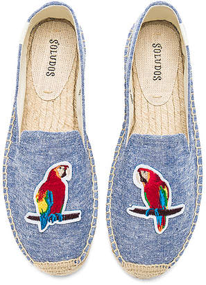Soludos Parrots Smoking Slipper