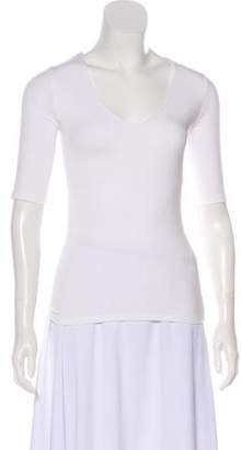 Alexander Wang Scoop Neck Three-Quarter Sleeve Top w/ Tags