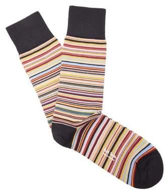 Paul Smith - Striped Socks - Mens - Multi