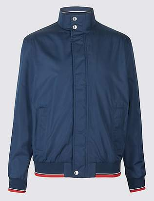 Blue Harbour Lightweight Bomber Jacket with StormwearTM