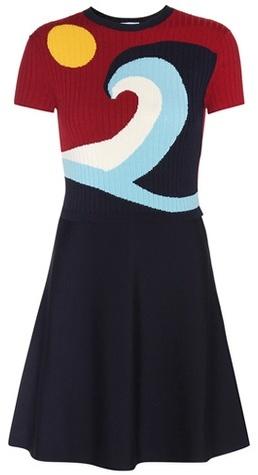 RED ValentinoREDValentino Rib-knit Dress