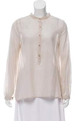 Etoile Isabel Marant Striped Long Sleeve Top
