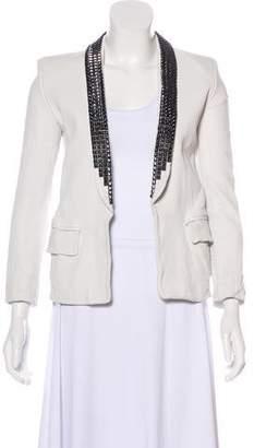 Balmain Studded Leather Jacket