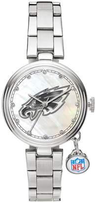 Sparo Charm Watch - Women's Philadelphia Eagles Stainless Steel