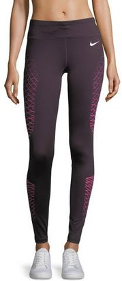 Nike Power Legend High-Rise Performance Training Tights $70 thestylecure.com