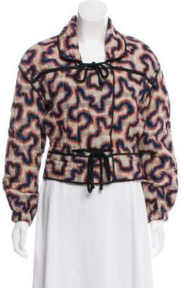 Isabel Marant Printed Quilted Jacket