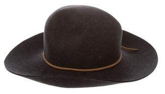Rag & Bone Wool Wide-Brim Hat w/ Tags