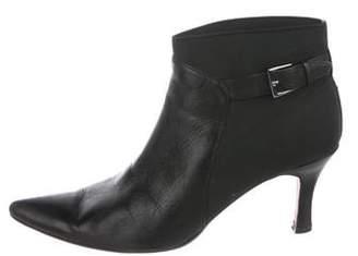 VANELi Leather Pointed-Toe Booties
