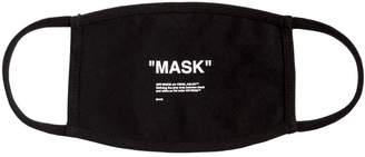 "Off-White ""Mask"" Printed Cotton Mask"