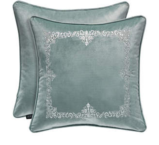 """J Queen New York Donatella 18"""" Sqaure Collection Decorative Pillow"""