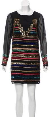 Mara Hoffman Embellished Long Sleeve Dress w/ Tags