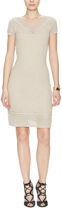 BCBGMAXAZRIA Amery Crochet Dress