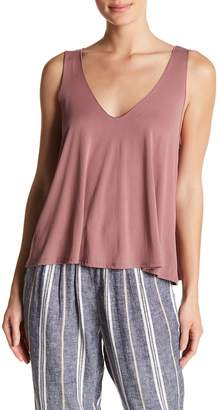 Abound Double V Swing Tank Top