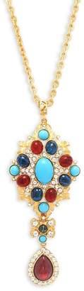 Ben-Amun Women's Crystal Pendant Necklace