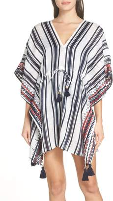 Tory Burch Ravena Stripe Beach Caftan