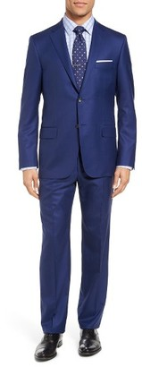 Men's Hickey Freeman Beacon Classic Fit Solid Wool Suit $1,595 thestylecure.com