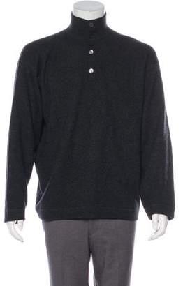 Malo Cashmere Mock Neck Sweater