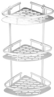 HURRISE 3 Tiers Shower Caddy Shelf Corner Storage Basket,Corner Rack Storage Bath Organizer for Shampoo, Conditioner