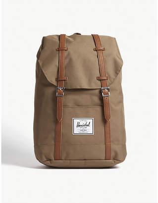 Herschel Brown Woven Retreat Backpack