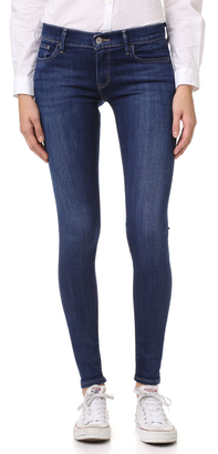 Levi's 710 Super Skinny Selvedge Jeans $128 thestylecure.com