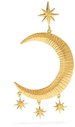 Freya MARTE FRISNES gold-plated single earring