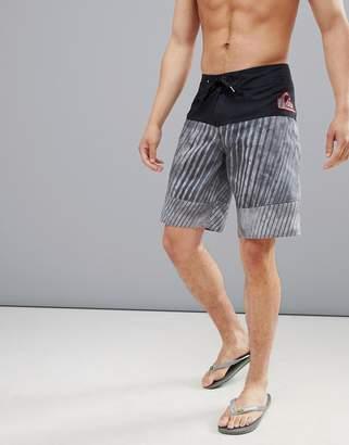Quiksilver Fluid Force Swim Shorts In Black