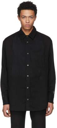 The Elder Statesman Black Cotton Shirt