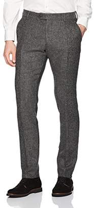 French Connection Men's Patchwork Wool Pants