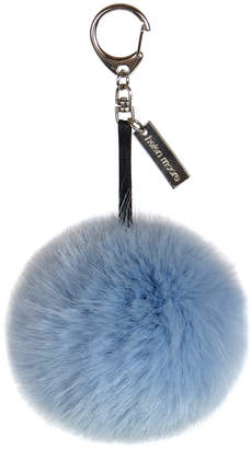 Helen Moore - Pom Pom Keyring - Powder Blue
