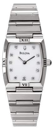 Bulova Women's 96P000 Diamond Dial Watch