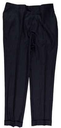 Salvatore Ferragamo Wool Dress Pants