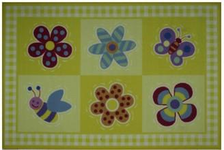 Fun Rugs Olive Kids Flowerland Rug - 3'3'' x 4'10''