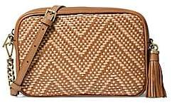MICHAEL Michael Kors Women's Medium Woven Camera Bag