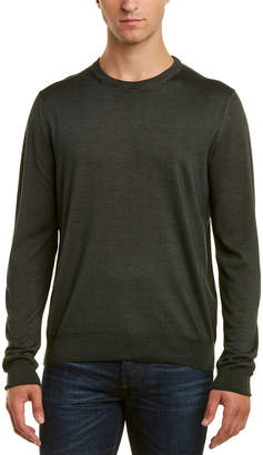 Canali Crewneck Wool & Silk-Blend Sweater