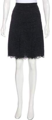 Tory Burch Lace Knee-Length Skirt