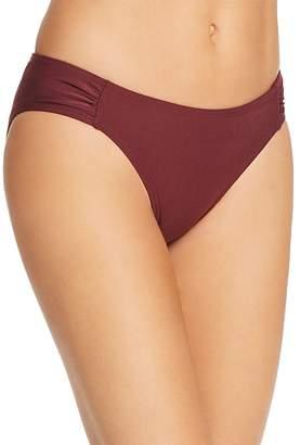 Kate Spade Shirred-Side Bikini Bottom