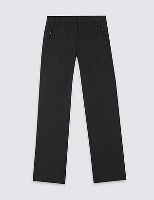 Marks and Spencer Girls Additional Length Slim Leg Trousers